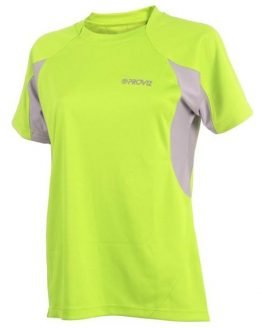 Proviz Active Hi-Vis Womens Running T-Shirt - Yellow/Grey