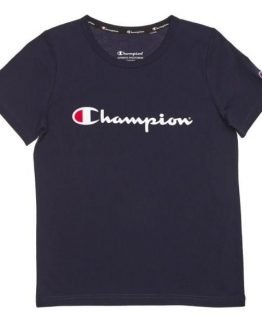 Champion Script Kids T-Shirt - Navy