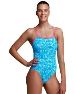 Funkita Single Strap Womens One Piece Swimsuit - Mystic Monster