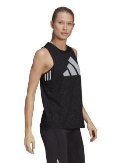 Adidas Sportswear Winners 2.0 Womens Tank Top - Black Melange