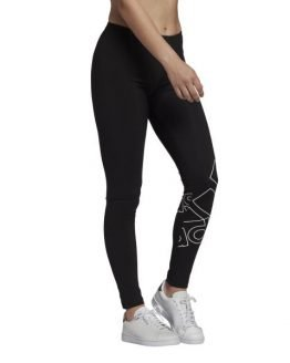 Adidas Essentials Logo Womens Leggings - Black/White