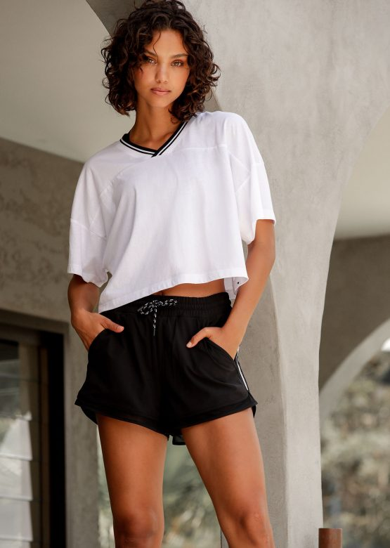 Half Time Cropped Tee