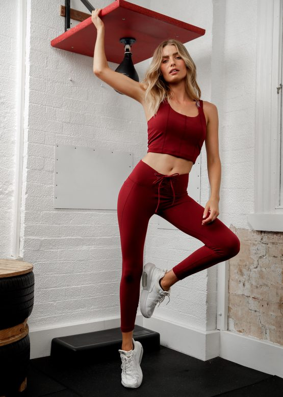 Lace Up Ankle Biter Leggings