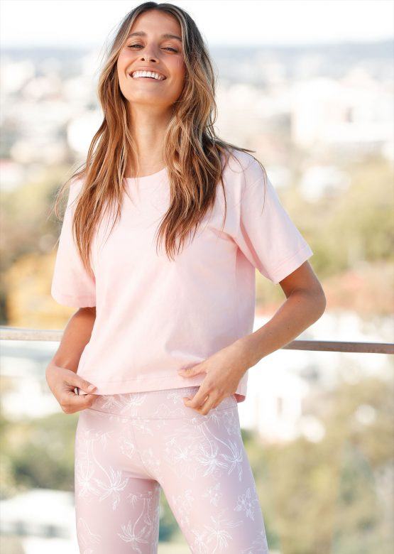 Take It Easy Cropped Tee