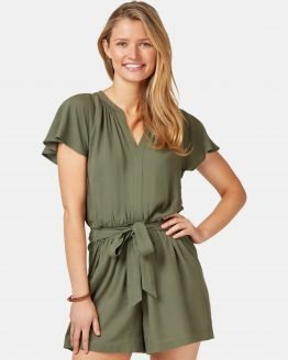 Casey Playsuit Thyme