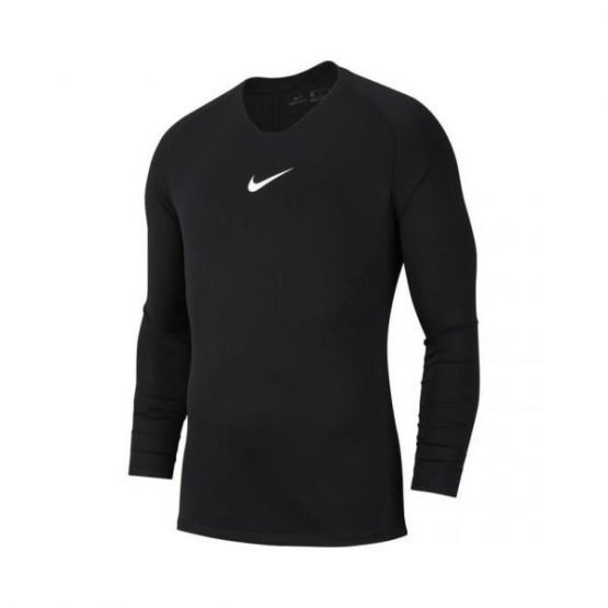 Nike Dri Fit Park First Layer Thermal - Mens Long Sleeves Top - Black