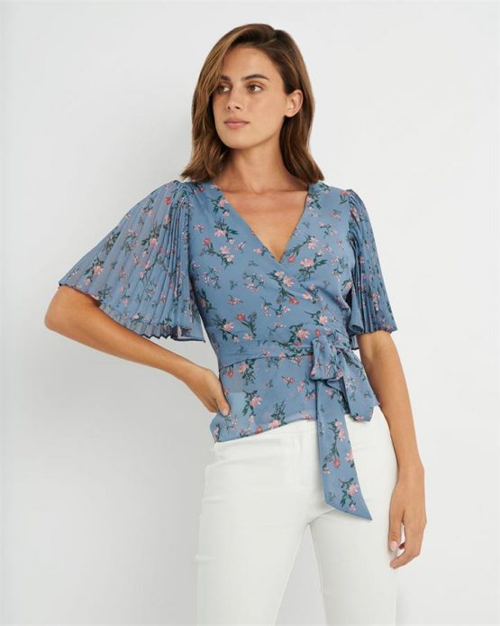 Lily Floral Top