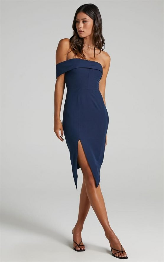 Showpo By Your Side dress in navy-14 (XL) 15% off Cocktail Styles